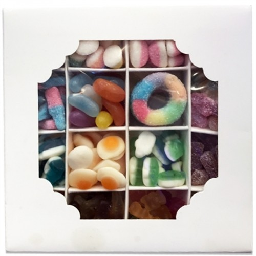 16 Section Gift Box - Generously Packed with delightful Pick n Mix