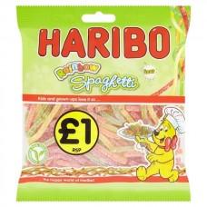 Haribo Sour Rainbow Spaghetti Bags 162g