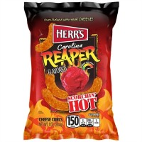 Herrs Carolina Reaper Cheese Curls (28G)