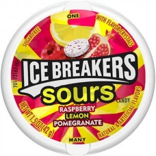 Ice Breakers Sours - Raspberry Lemon Pomegranate 1.5oz (42g)