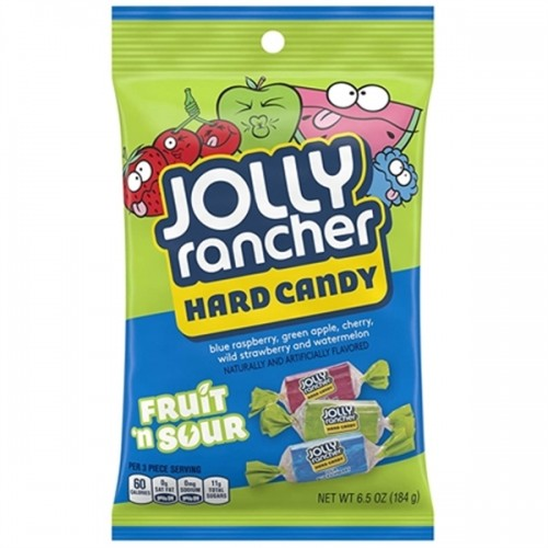 Jolly Rancher Hard Candy Fruit n Sour 6.5oz (184g)