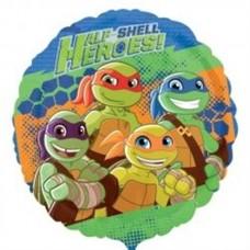 Teenage Mutant Ninja Turtles Balloon - Half Shell Heroes 43cm/17inch