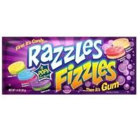 Razzles Fizzles 1.4oz (39g)