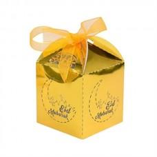 Eid Mubarak Candy Box - Gold