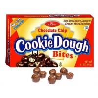 Cookie Dough Bites Chocolate Chip 3.1oz (88g) Theatre Box
