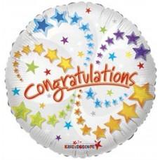 Congratulations Foil Balloon 45.7cm/18inch