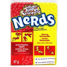 Nerds Double Dipped Lemonade Cherry Apple Watermelon - 1.65oz (46.7g)