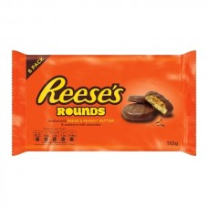 Reeses Peanut Butter Rounds - 6 Pack (110g)