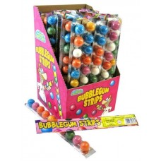 Crazy Candy Factory Bubblegum Strips (30g)