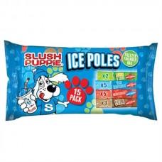 Slush Puppie Ice Poles 15 Pack