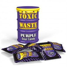 Toxic Waste Purple Drum Extreme Sour Candy 1.5oz (42g)