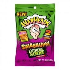 Warheads Smashups Extreme Sour Hard Candy 3.25oz (92g)
