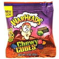 Warheads Trial Size Chewy Cubes - 0.8oz (22g)