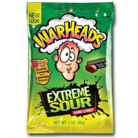 Warheads - Extreme Sour Hard Candy - 2oz (56g)